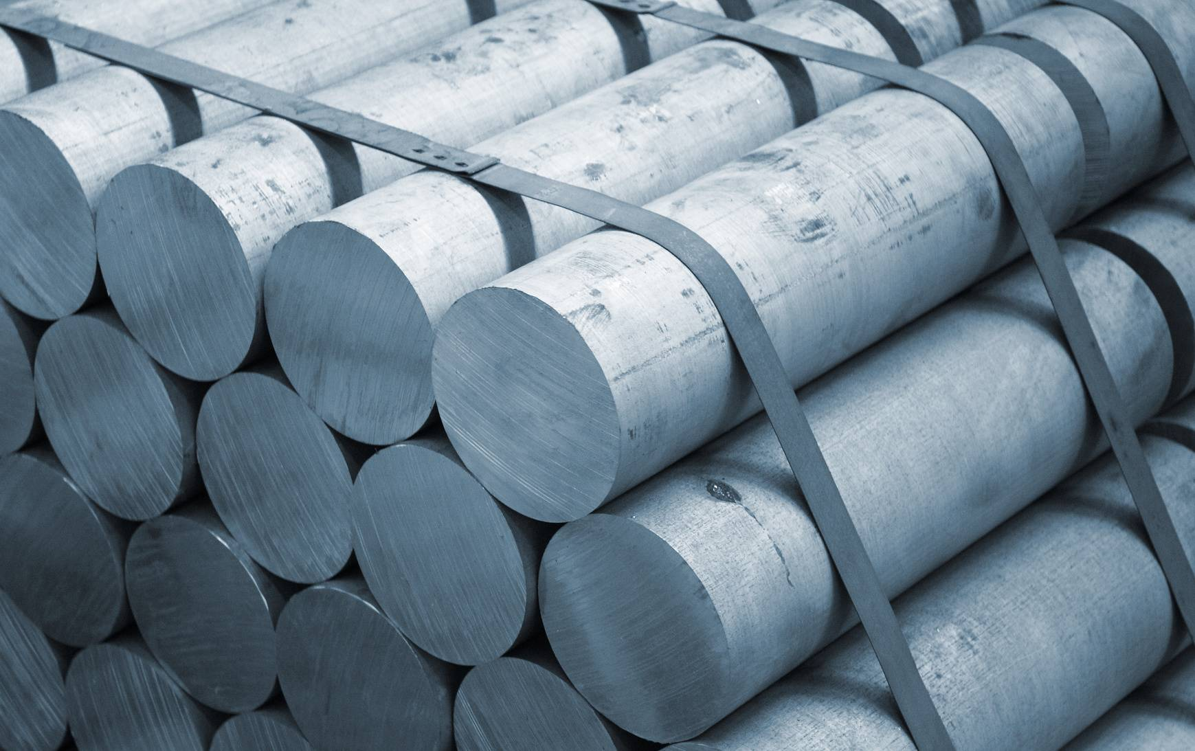 Aluminium barres