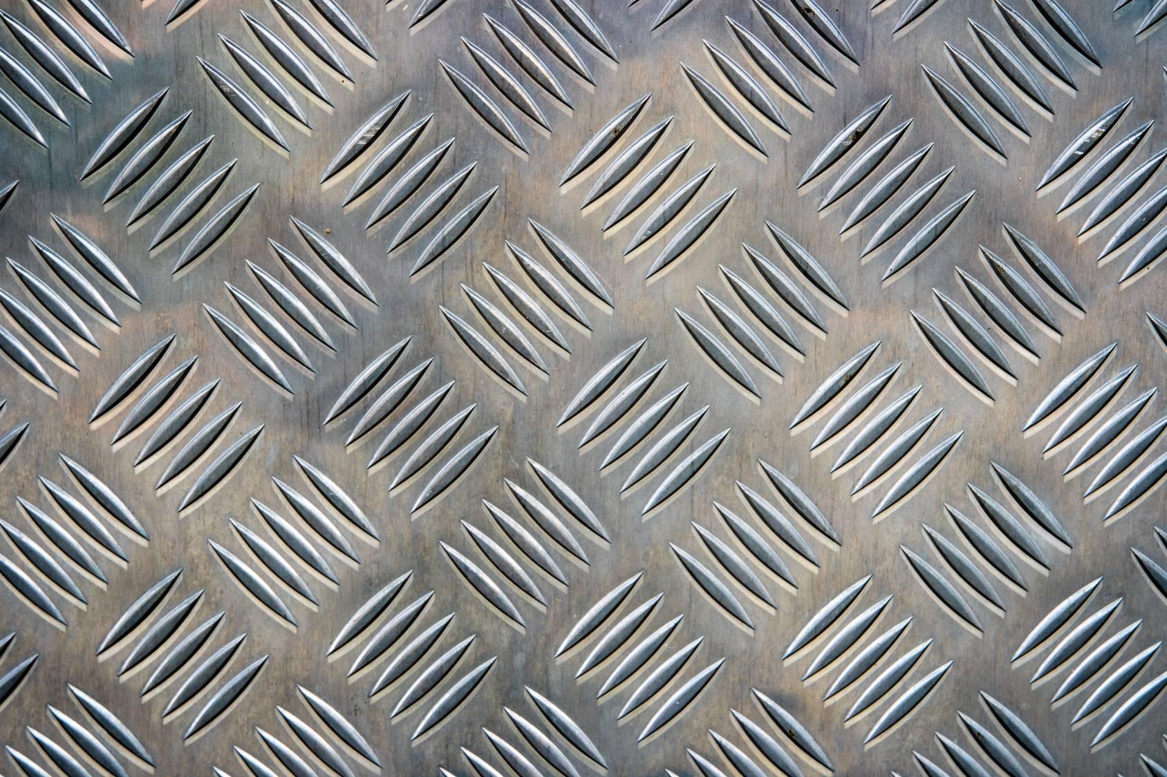 Tôle damier aluminium